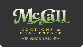 Official McCall Auctions & Real Estate Logo